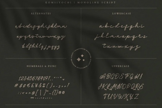 Komsiyochi font free