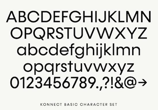 Konnect font family download