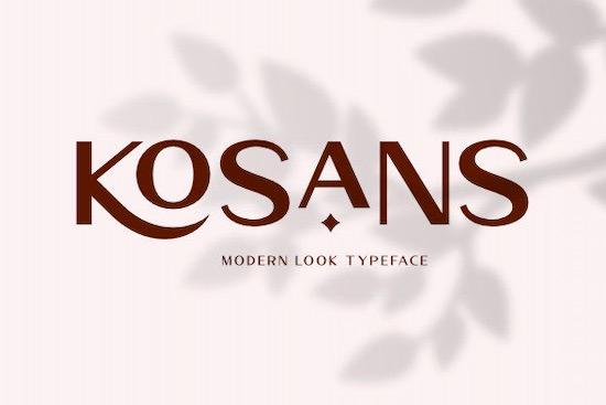 Kosans font free download