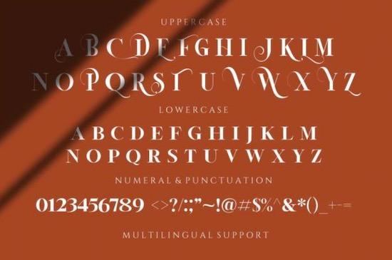 La Vieste font download