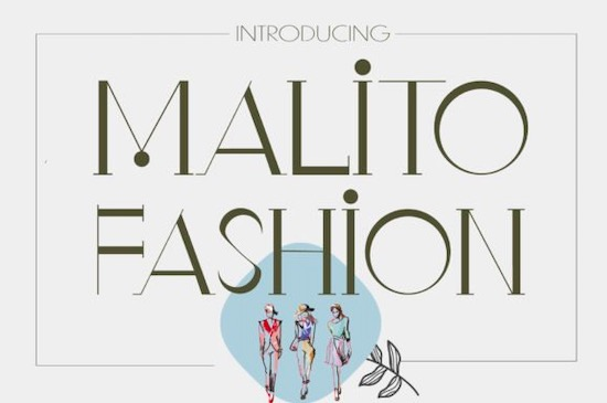 Malito Fashion font free download