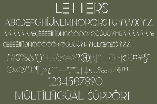 Malito Fashion font