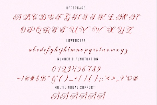 Mansdefia font free