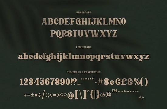 Marleigh font download