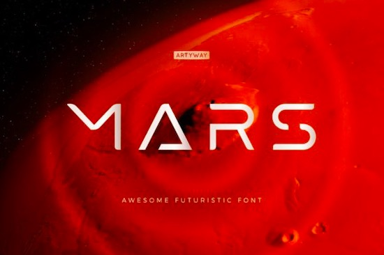 Mars font free download