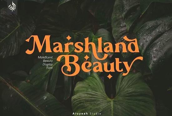 Marshland Beauty font