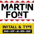 Martin font free