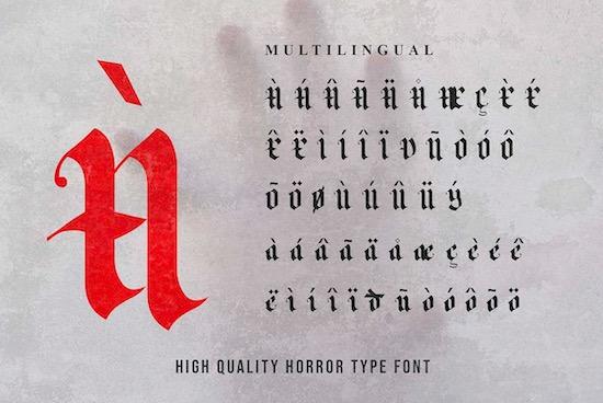 Matter Of Fact font download