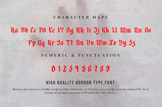 Matter Of Fact font free