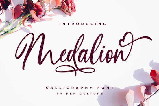 Medalion font free download