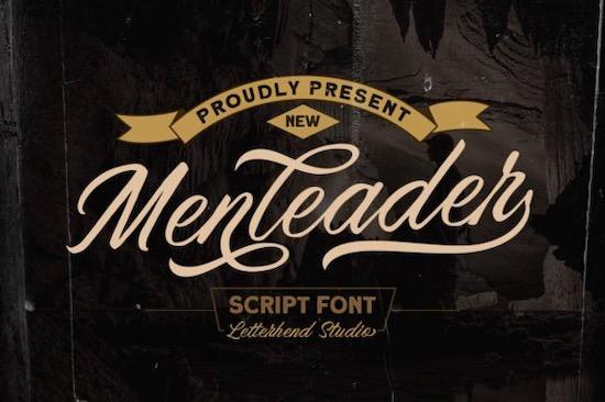 Menleader font free download