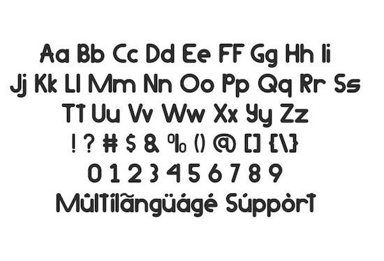 Metamora font free