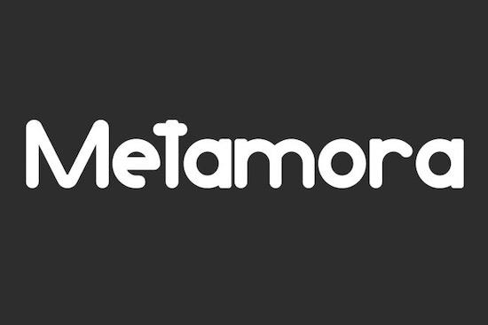 Metamora font