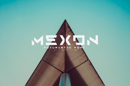 Mexon font free download