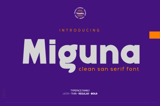 Miguna font free download
