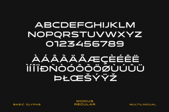 Modius Extended font download