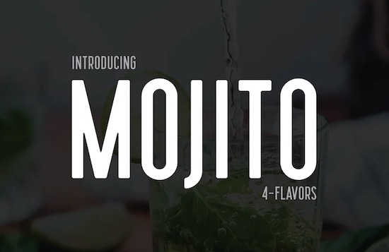 Mojito font free download