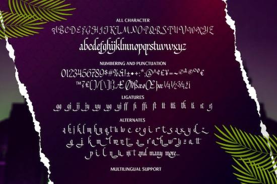 Mustopha font download