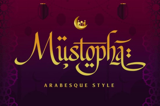 Mustopha font free download