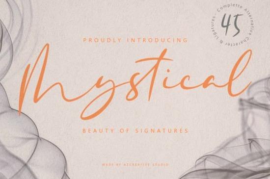 Mystical font free download