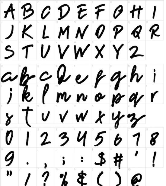New French font free