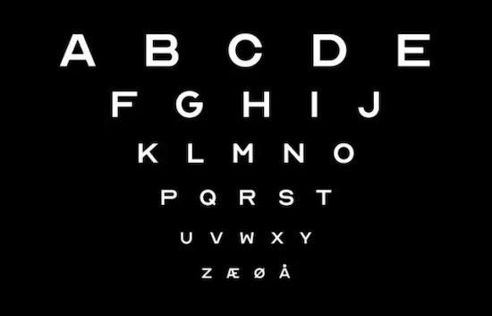 Optican Sans font free
