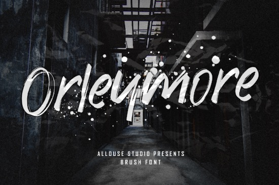 Orleymore font free download