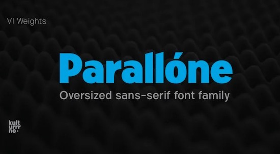 Parallone font download