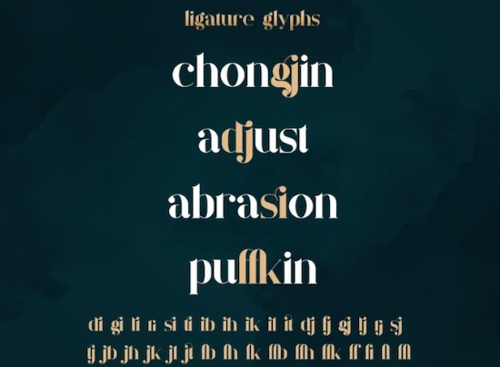 Quilin font free download