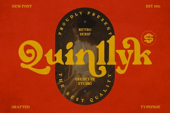 Quinlliyk font free download
