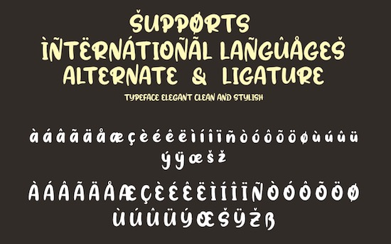 Radish font download