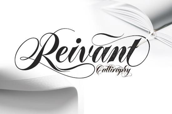 Reivant font free download