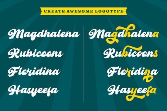 Retro Young font download