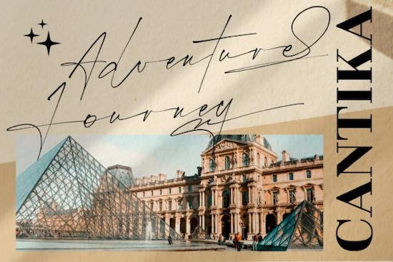 Rostera Signature font free download
