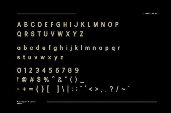 Rubric font download