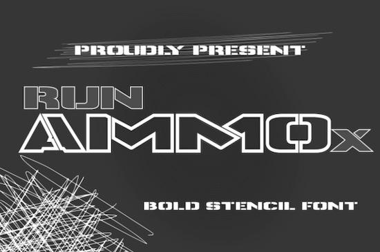Runammox font free download