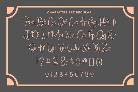 Sandrani font free