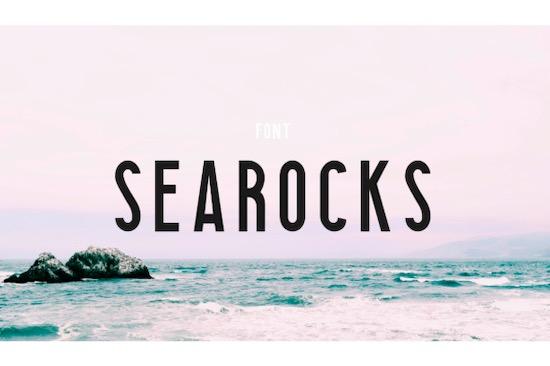 Searocks font free download