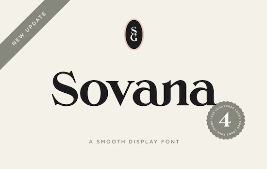 Sovana font free download