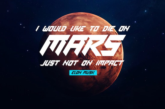 Space Mission font download