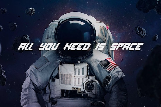 Space Mission font free download