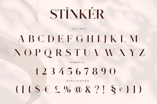 Stinker font download