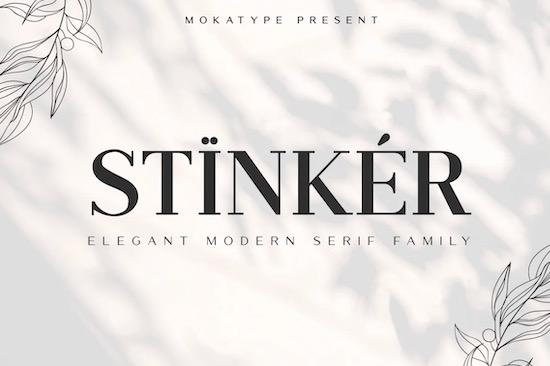 Stinker font free download