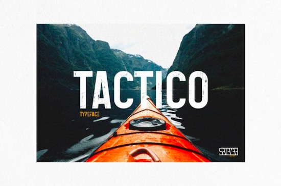 Tactico font free download