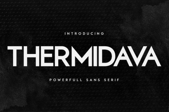 Thermindava font free download