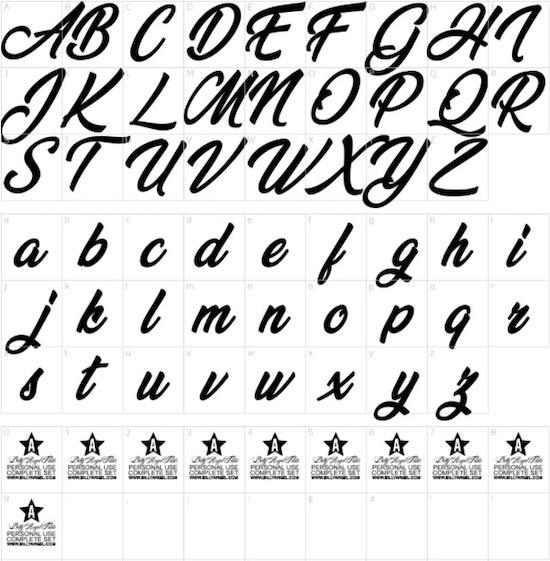 Vegan Style font free