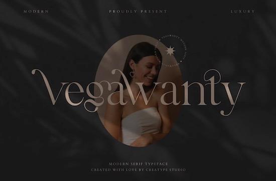 Vegawanty font free download