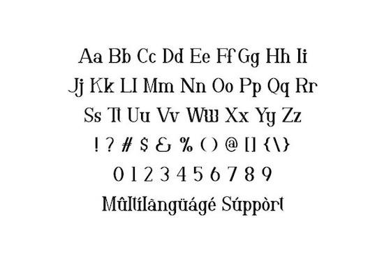 Vergas font download