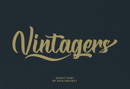 Vintagers font free download