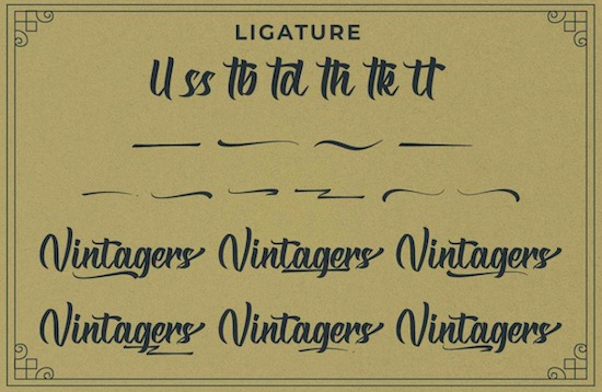 Vintagers font free